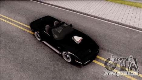 Chevrolet Corvette C4 1996 Cabrio for GTA San Andreas right view