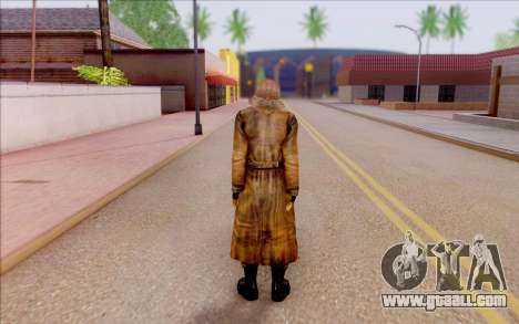 Raven of S. T. A. L. K. E. R for GTA San Andreas fifth screenshot
