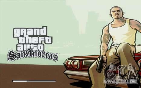 Loadscreens Remastered (HD) for GTA San Andreas second screenshot