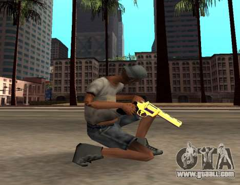 Iridescent Gun Pack SAMP for GTA San Andreas third screenshot