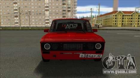 VAZ 2106 Shaherizada 2.2 GVR SA:MP for GTA San Andreas back left view