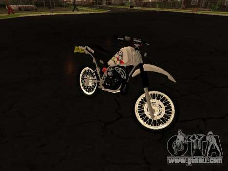 Yamaha DT 175 Stunt for GTA San Andreas left view