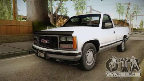 GMC Sierra 1500 1988 for GTA San Andreas