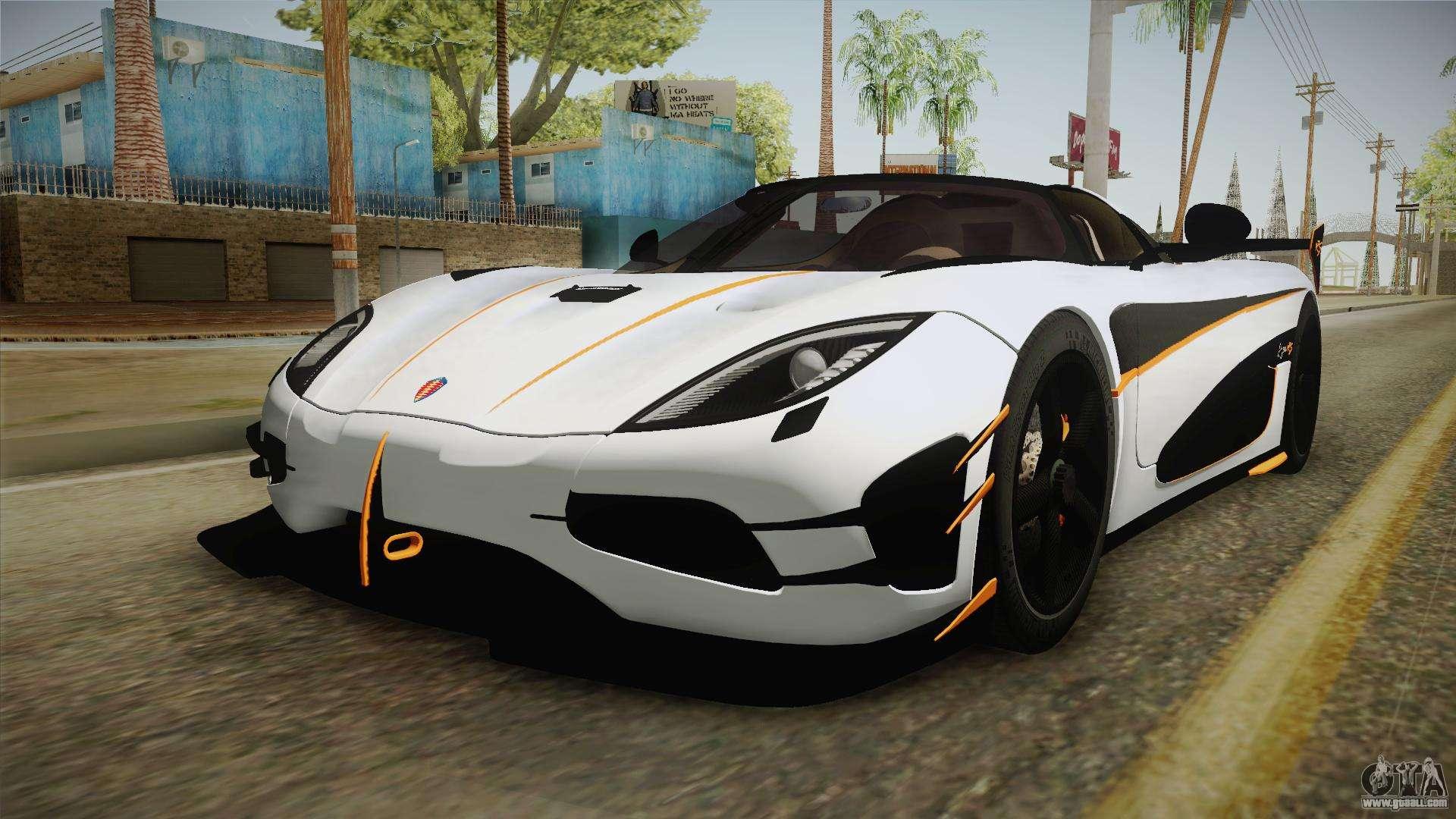 Koenigsegg Agera Rs V3 For Gta San Andreas