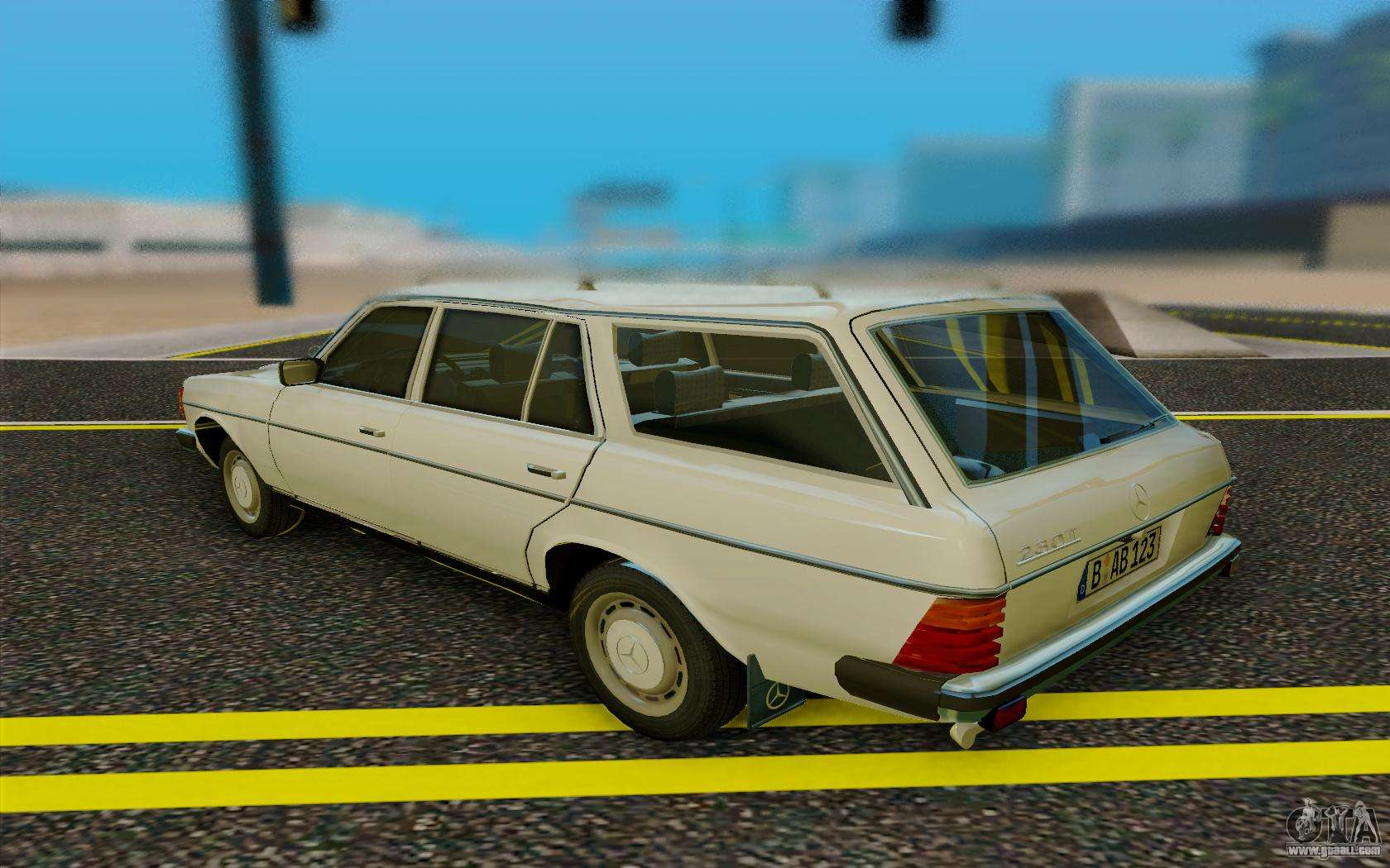 Mercedes benz w123 wagon for gta san andreas for Mercedes benz w123