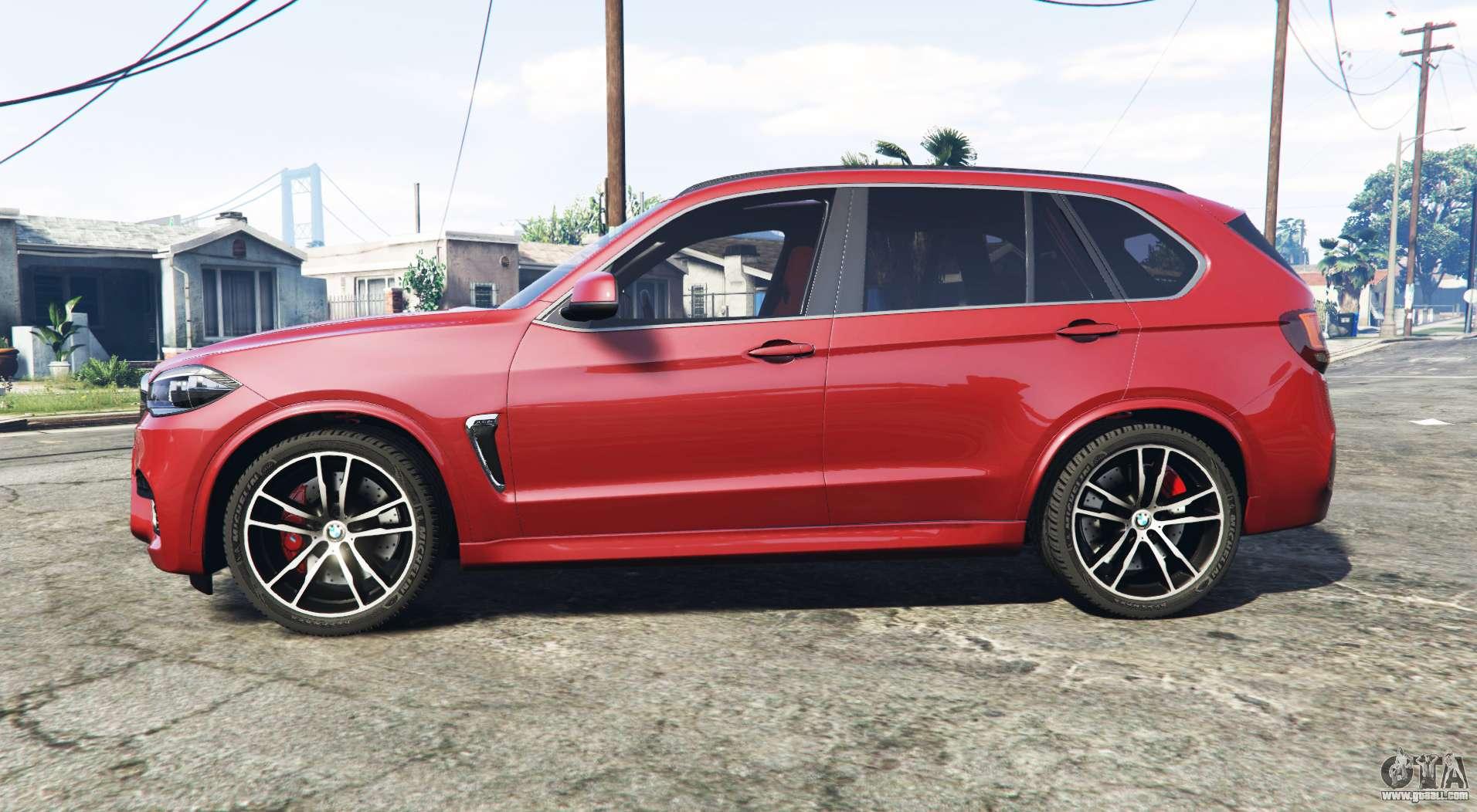 BMW X5 M (F85) 2016 [add-on] for GTA 5