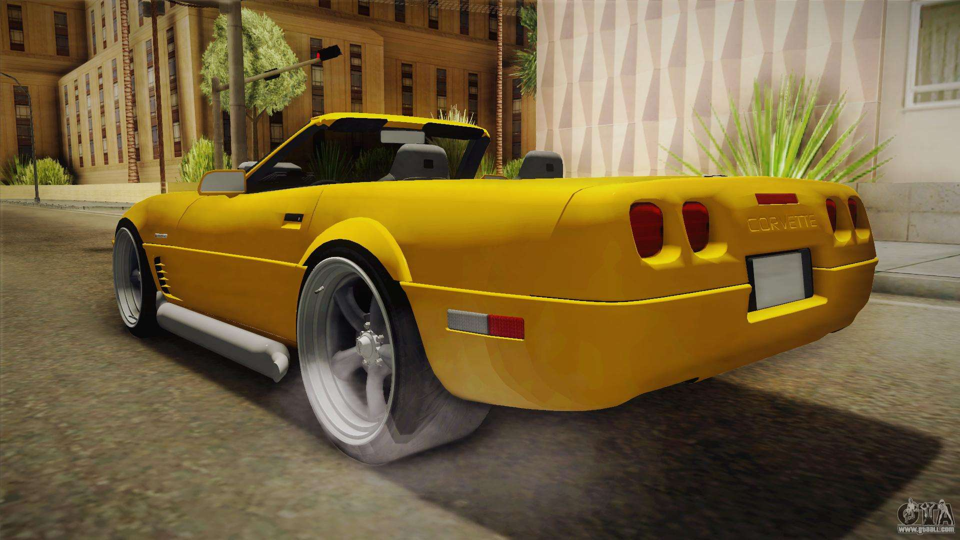 Chevrolet Corvette C4 Cabrio 1996 For Gta San Andreas