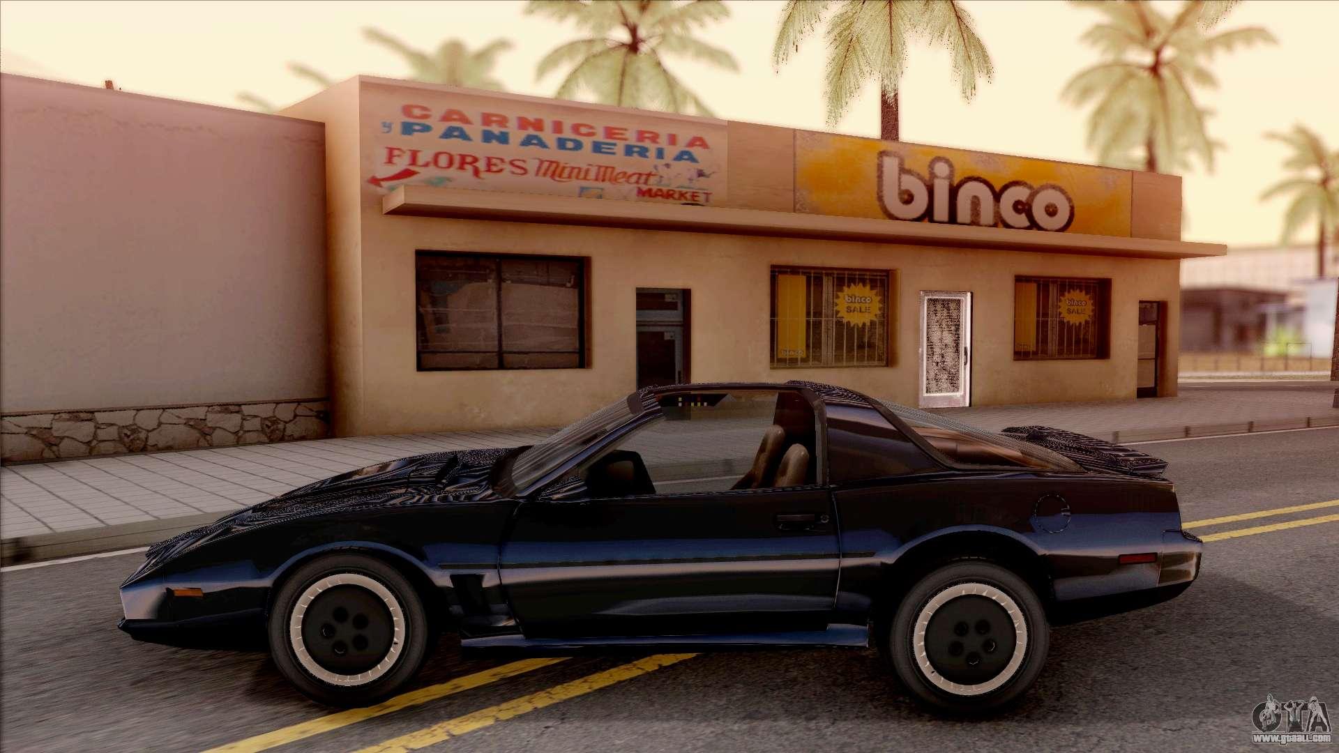 Knight Rider KITT 2000 for GTA San Andreas