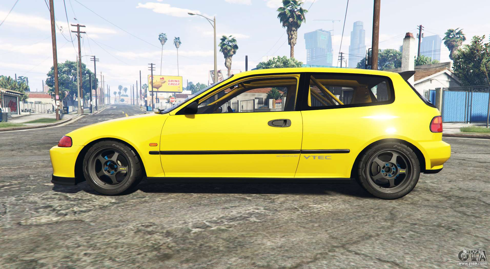 honda civic sir eg6 add on for gta 5. Black Bedroom Furniture Sets. Home Design Ideas