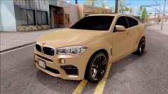 BMW X6M F86 2016 SA Plate