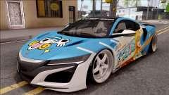 Acura NSX Stance 2017 Itasha Nami for GTA San Andreas