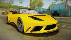 Lotus Evora GTE for GTA San Andreas
