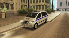 Mercedes-Benz Vito FSB for GTA San Andreas