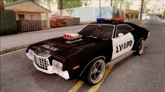 Ford Gran Torino Police LVPD 1972 v4 for GTA San Andreas