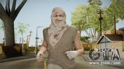 GTA Online: SmugglerRun Male Skin for GTA San Andreas