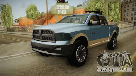 Dodge Ram Technical for GTA San Andreas