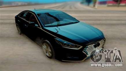 Hyundai Sonata 2018 for GTA San Andreas
