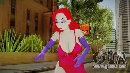 Jessica Rabbit Skin for GTA San Andreas