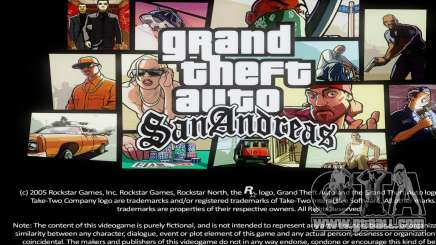 Loadscreens Remastered (HD) for GTA San Andreas