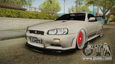 Nissan Skyline R34 GT-R 2002 for GTA San Andreas