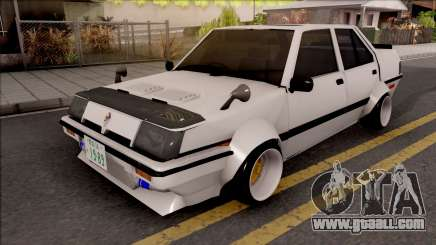 Proton Saga 1985 Widebody ver. for GTA San Andreas