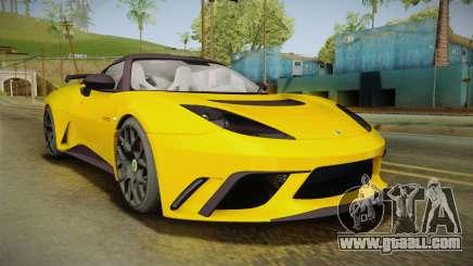 Lotus Evora GTE for GTA San Andreas