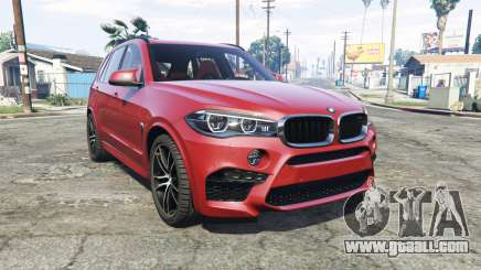 BMW X5 M (F85) 2016 [add-on] for GTA 5