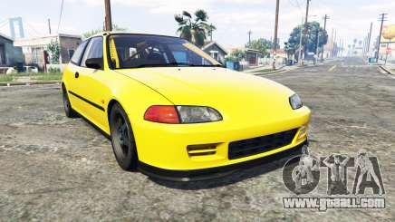 Honda Civic SIR (EG6) [add-on] for GTA 5