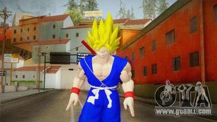 Goku Original DB Gi Blue v3 for GTA San Andreas