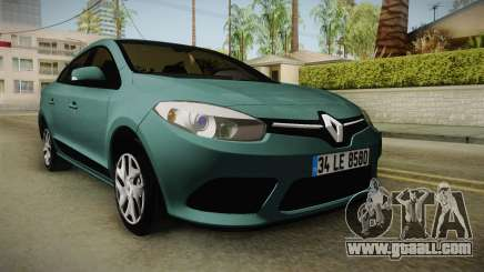 Renault Fluence Joy for GTA San Andreas