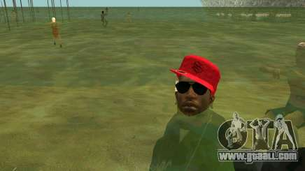 On the beaches people swim in the water for GTA San Andreas