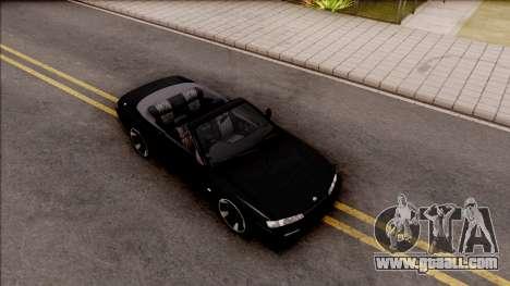 Nissan 200SX Cabrio for GTA San Andreas right view