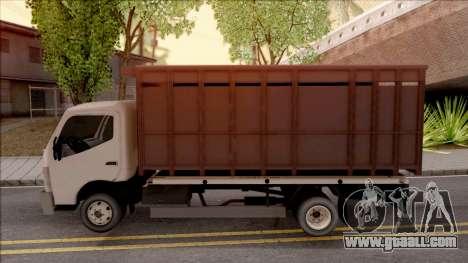 Mitsubishi Fuso Truck for GTA San Andreas left view