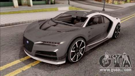 Truffade Nero from GTA V for GTA San Andreas