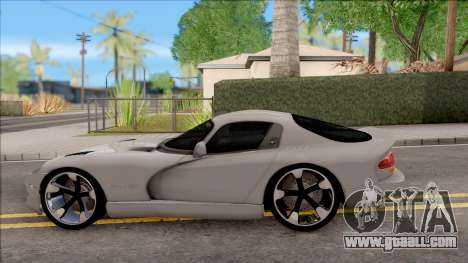 Dodge Viper GTS for GTA San Andreas left view