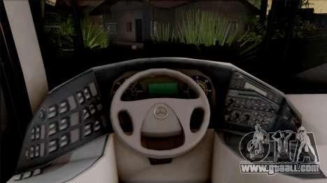 Mercedes-Benz Tourismo Kamil Koç for GTA San Andreas inner view