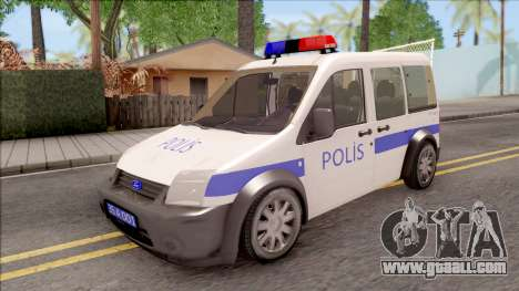 Ford Tourneo Connect K210S Turkish Police for GTA San Andreas