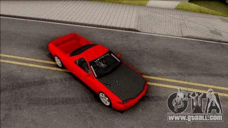 Nissan Skyline R32 Pickup Drift Monster Energy for GTA San Andreas right view