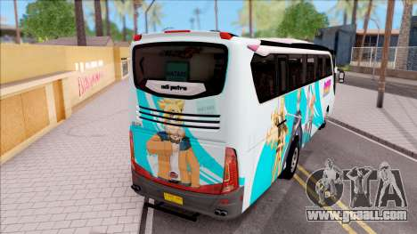 Adi Putro Royal Coach SE Boruto v1 for GTA San Andreas back left view