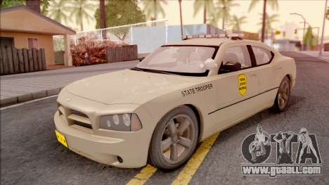 Dodge Charger Gold 2007 Iowa State Patrol for GTA San Andreas