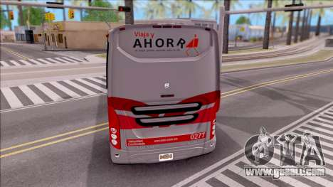 Volvo 9800 4x2 for GTA San Andreas back left view