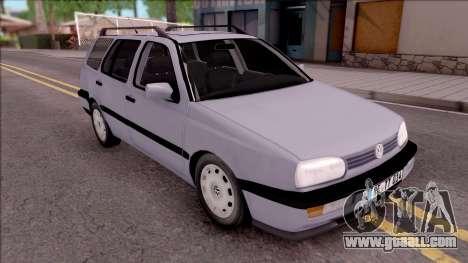 Volkswagen Golf Mk3 Variant for GTA San Andreas