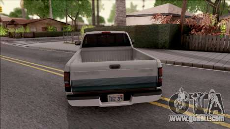 Dodge Ram 2500 1994 for GTA San Andreas back left view
