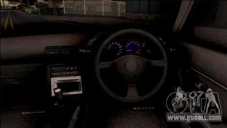 Nissan Skyline R32 Pickup v2 for GTA San Andreas inner view