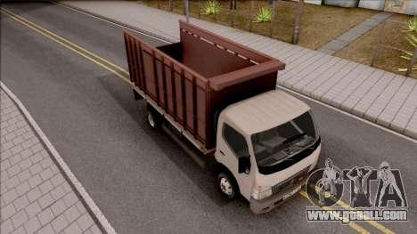 Mitsubishi Fuso Truck for GTA San Andreas right view