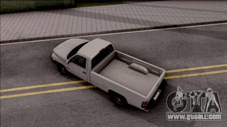 Dodge Ram 2500 1994 for GTA San Andreas back view