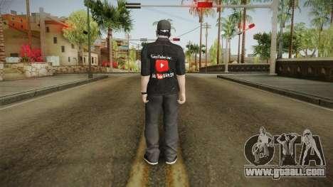 GeoTube Skin for GTA San Andreas third screenshot