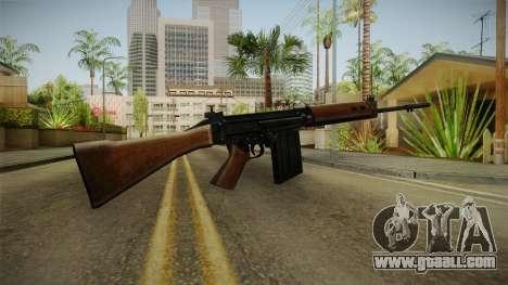 Insurgency FN-FAL Assault Rifle for GTA San Andreas second screenshot