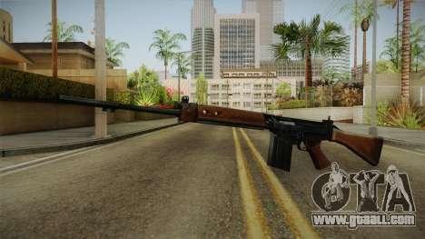 Insurgency FN-FAL Assault Rifle for GTA San Andreas