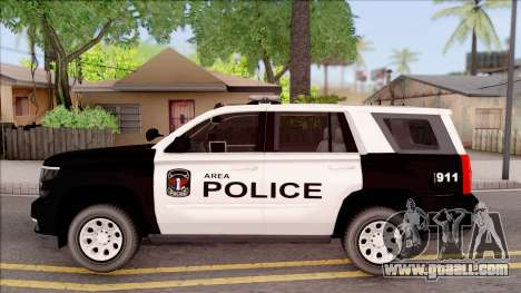 Chevrolet Tahoe 2015 Area Police Department for GTA San Andreas